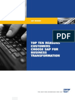 SAP Top 10 Biz Transformation