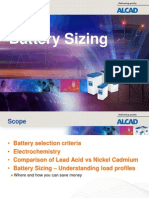 Battery Sizing Basics
