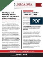 COLP & COFA Breakfast Briefing Series
