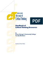 Critical Thinking Resource