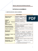 Modulo Comercio y Negocios Internacion