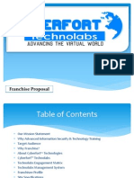 cyberfort franchise proposal