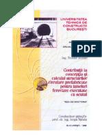 T. IFTIMIE, Contributii La Conceptia Si Calculul Structurilor Circulare Pentru Tunneluri Ferovia