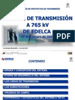 EDELCA_Proyectos de EHV de Venezuela_O Sanz