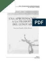 u03Frapolli-Romero Una Aproximacion a La Filosofia Del Lenguaje