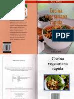 wilson, anne - cocina vegetariana rápida