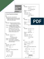 Kunci Jawaban BAB 3 Math Sukino SMA XI IPA Semester 2