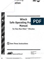 Winch Safe Operations