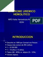 Sindrome Uremico-hemolitico tipico y atipico en Pediatria