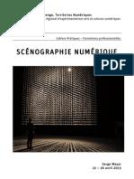 Formation Scénographie numérique