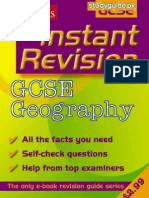 GCSE Geography Instant Revision