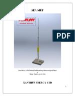 Sea Met - Self Installing Meteorological Mast