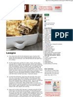 Lasagne Recipe - Recipes - BBC Good Food