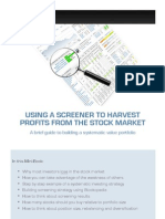 Systematic Investing Guide