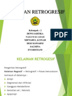kelainan retrogresif