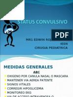 Tratamiento del status convulsivo en Pediatria