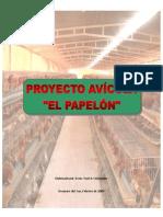 Proyecto Avicola El Papelon ESTE ES