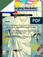 Emerging Markets No1 2010