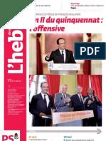 L'Hebdo des socialistes n°697 - An II du quinquennat