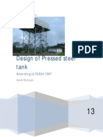 design of Pressed steel tank pdf