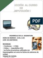 Computacion I Introduccion