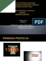 Diapositivas de Profecias Mayas