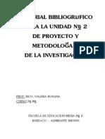 Material bibliográfico - Unidad N°2 - PROMI