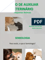 CURSO DE AUXILIAR VETERINÁRIO - AULA SEMIOLOGIA_aula2