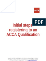 ACCA Guide Registering for 2012