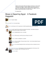The Haggadah~Facebook Version