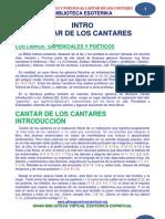 36 01 Intro Historico y Poetico Al Cantar de Los Cantares Www.gftaognosticaespiritual.org