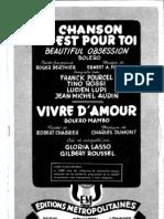 Ma Chanson Est Pour Toi - 1960 - Frank Pourcel - Tino Rossi.pdf
