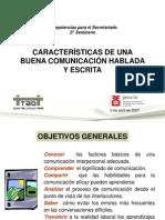 0009954Comunicacion Hablada y Escrita (Provia, 2o SS, Mayo 2007)