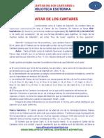 36 06 CANTAR de LOS CANTARES Www.gftaognosticaespiritual.org