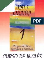 That´s English Modulo 1 Libro
