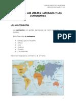 u05 Los Medios Naturales y Los Continentes