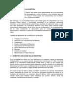 APLICACIÓNES DE LA ROBÓTICA