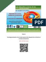 Tema 1 Tecnologia Educativa