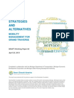 Strategies and Alternatives - Mobility Management for Grand Traverse