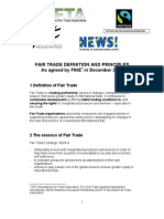 Fair Trade Definition and Principles