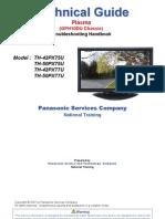 Panasonic PX75U Technical Guide
