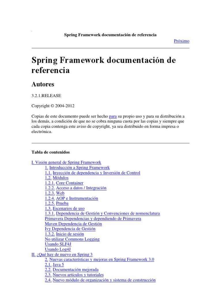 Spring 321 Castellano