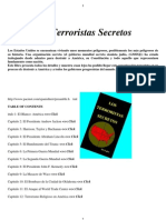 Libro Oo Anexo 1 Los Terroristas Secretos La Guerra Final A