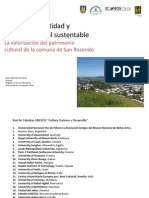 Territorio Identidad y Turismo Cultural Sustentable
