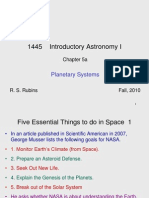 1445 Introductory Astronomy 5a-1