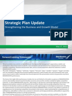 Presentation - Strategic Plan - May 2013