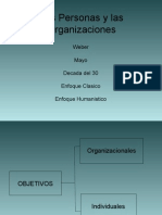 Las Personas y Las Organizaciones
