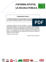 130516 Carta Presidente Gobierno PEPLEP