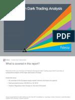 European Dark Trading Analysis - April 2013 -Fidessa