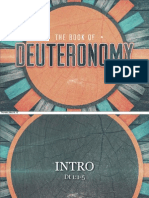 Deuteronomy Slides